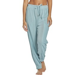 Free People Women's Trekking Out Jogger Pants - Light Green Medium Spandex