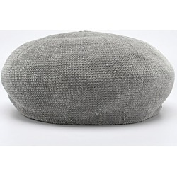 Costbuys  Autumn Women Berets Casual Solid Color Hat For Female Beanie Caps Velvet - deep gray