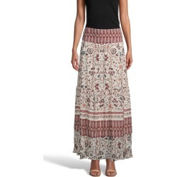 Nicole Miller Jakarta Print Maxi Skirt | Silk/Viscose/Cashmere | Size Small found on MODAPINS from Nicole Miller for USD $275.00