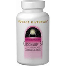 Coenzymated B-1 Sublingual 60 Tabs by Source Naturals found on Bargain Bro India from Herbspro - Dynamic for $23.98