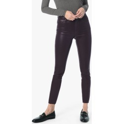 Joe's Jeans Women's The Charlie Ankle Skinny Jeans in Aubergine/Red | Size 23