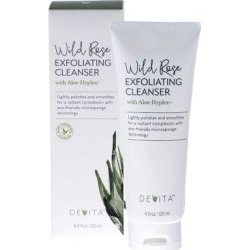 Wild Rose Exfoliating Cleanser 4 Oz by Devita Natural Skin Care found on Bargain Bro India from Herbspro for $28.95