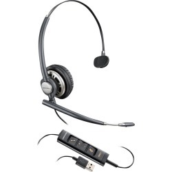 Plantronics Encorepro Hw715 Monaural USB PC Headset W/ Inline Controls