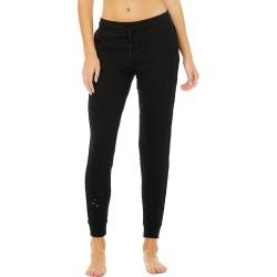 Alo Yoga Fierce Sweatpant - Black - Size L - Performance Fabric