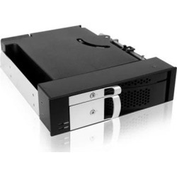 "ICYBOX 2in1 2Bay Mobile Rack for 2.5"" + 3.5"" SATA HDD to 2 SATA Host"