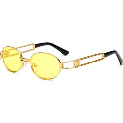 Costbuys  MINCL/Vintage Designer Fashion Sunglasses Oval Frame UV Protection Ocean film sunglasses Retro punk sunglasses FML - y found on Bargain Bro India from cost buys for $76.23