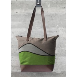 Statement Bag - Annette Palm Beach by VIDA Original Artist found on Bargain Bro India from SHOPVIDA for $95.00