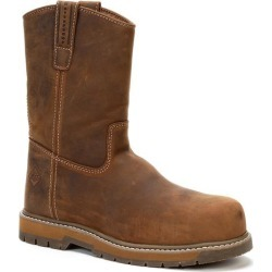 Men's Comp Toe Wellie Boot in Brown | 12 | The Original Muck Boot Company