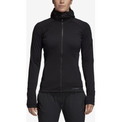 adidas Terrex Stockhorn Fleece Hoodie II Women's Running Apparel Black found on Bargain Bro India from Holabird Sports for $129.00