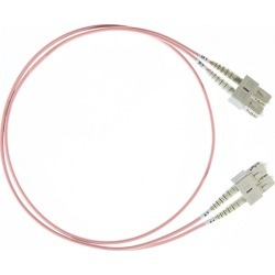 5M Sc Sc Om4 Multimode Fibre Optic Cable Salmon Pink 2Mm found on Bargain Bro from Simply Wholesale for USD $28.39