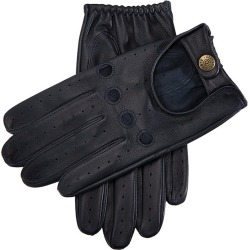 Dents Men's Leather Driving Gloves In Navy Size M found on Bargain Bro UK from Dents