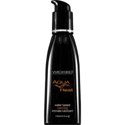 Wicked Aqua Heat - Warming Water Based Lubricant - 120 ml (4 oz) Bottle found on Bargain Bro India from Simply Wholesale for $30.97
