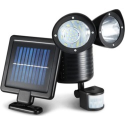 22 LED Solar Powered Dual Flood Lamp found on Bargain Bro Philippines from Simply Wholesale for $27.46