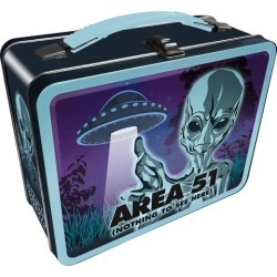 Area 51 Embossed Tin Fun Box found on MODAPINS from Toynk Toys for USD $19.99