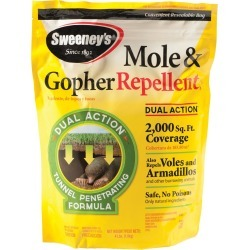 Mole and Gopher Repellent, 4-lb. Bag