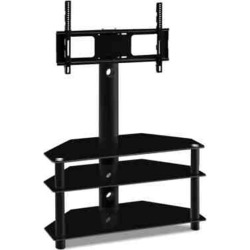 3 Tier Floor TV Stand With Bracket Shelf Mount found on Bargain Bro India from Simply Wholesale for $154.29
