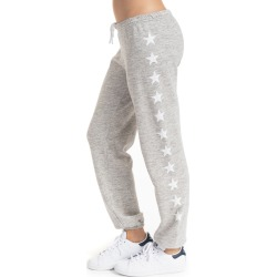 Hard Tail Forever Old School Pants with Stars - Heather-White - S found on Bargain Bro India from hardtailforever.com for $95.00