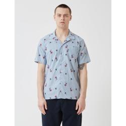 Libertine-Libertine Cave Shirt - Blue Pin Mushroom