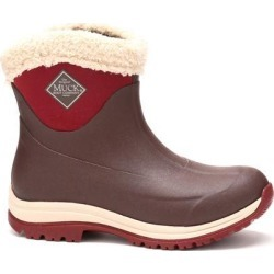 Women's Arctic Apres Slip On Boot in French Roast/Cordovan | 11 | The Original Muck Boot Company