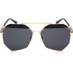 Costbuys  Fashion Aviation Sunglasses Men Women Pilot Brand Designer Sun Glasses For Male Driving UV400 Vintage Oculos - C5 / C6