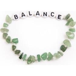 TBalance Balance - Aventurine Crystal Healing Bracelet - One Size found on Bargain Bro UK from Oxygen Boutique