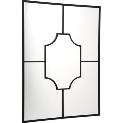 Boyd Wall Mirror Black found on Bargain Bro India from interiors online AU for $275.23