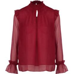 Frill Sleeve Sheer Blouse found on Bargain Bro UK from Izabel London UK