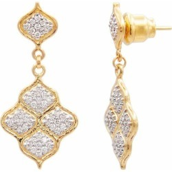Diamond Pave Trellis Earrings found on Bargain Bro from Marissa Collections for USD $2,850.00