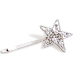 Alice & Blair Stella Star Hair Slide - White found on Makeup Collection from Oxygen Boutique for GBP 32.71