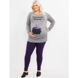 Plus Size Something's Brewing Maternity Halloween Costume