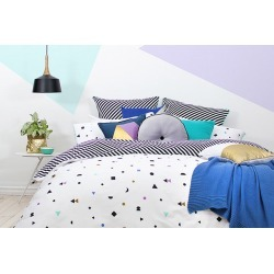 Bambury Tilo Quilt Cover found on Bargain Bro Philippines from Simply Wholesale for $82.45