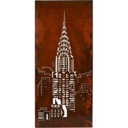Chrysler Building Wall Panel found on Bargain Bro India from interiors online AU for $1156.24