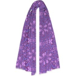 100% Cashmere Scarf - Lilies Of The Valley 21 by VIDA Original Artist found on MODAPINS from SHOPVIDA for USD $145.00