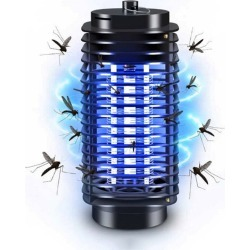 Costbuys  3W Mosquito Killer Lamp AC220V/110V Home Electronics Mosquito Killer Trap Moth Fly Wasp Led Night Lamp Bug Zapper - US