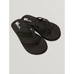 Volcom GIRLS FOREVER AND EVER BIG GIRLS SANDALS - BLACK - Black - 2 found on Bargain Bro Philippines from volcom.com for $16.00