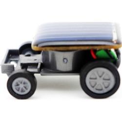 Costbuys  Solar Car Toy Smallest Solar Power Mini Toy Car Racer Educational Solar Powered Toy 33*22*14mm Sep#1 - Black