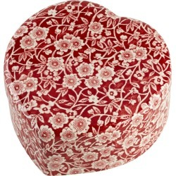 Limited Edition - Red Calico Trinket Box found on Bargain Bro UK from Burleigh