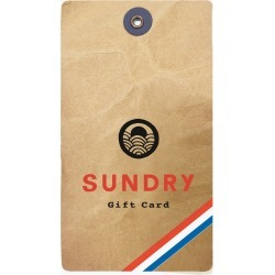 Gift Card found on Bargain Bro Philippines from Sundry for $200.00