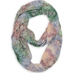 Infinity Eco Scarf - Wine Stained Flora by VIDA Original Artist found on Bargain Bro India from SHOPVIDA for $45.00