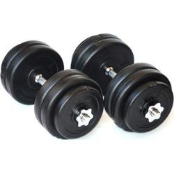 30KG Dumbbell Adjustable Weight Set