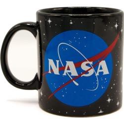 NASA Logo Black 14oz Ceramic Coffee Mug