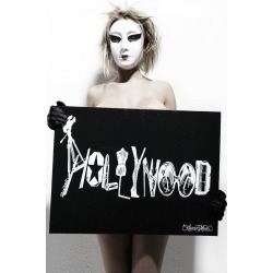 Canvas Hollywood Art - 24x18 Black found on Bargain Bro Philippines from lauren moshi for $360.00