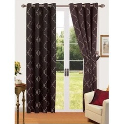 Comfort Collection Eyelet Curtain - Riad found on Bargain Bro India from Simply Wholesale for $26.55