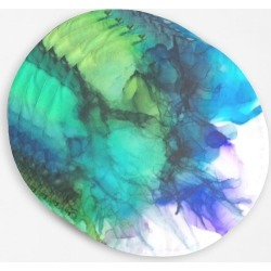 Placemat Set - Teal Splash in Blue/Green/Purple by VIDA Original Artist found on Bargain Bro India from SHOPVIDA for $45.00