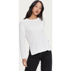 Michael Stars Womens Paige Pullover Sweater - White, Size M