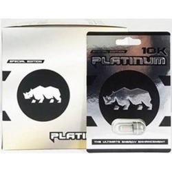 Platinum Rhino 10K Sexual Male Enhancement Supplement