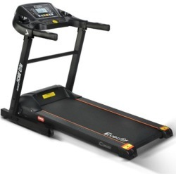 Electric Treadmill 40cm Running Home Gym Fitness Machine Black