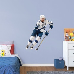 """Steven Stamkos for Tampa Bay Lightning - Officially Licensed NHL Removable Wall Decal Giant Athlete + 2 Decals (38""""W x 51""""H) by"""
