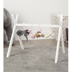 CuddleCo Tipi Play Gym Frame White found on Bargain Bro UK from Oxygen Boutique