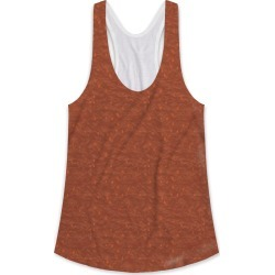 Printed Racerback Top - Amber in Brown/Orange/Red by VIDA Original Artist found on Bargain Bro India from SHOPVIDA for $45.00